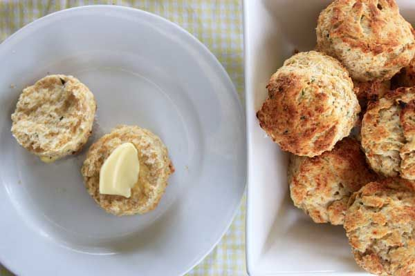 When you feel like a little something different, ditch the jam and cream and welcome cheese and butter. These savory scones are a must-have.