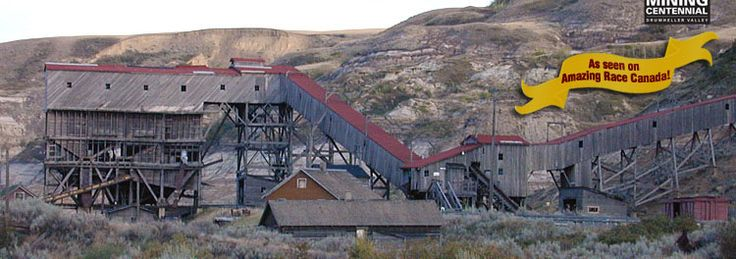 Atlas Coal Mine National Historic Site - Alberta Coal Mining Museum. Drumheller, AB