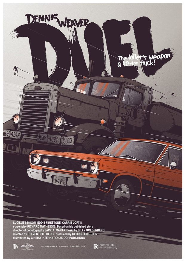 Duel - movie poster - Krzysztof Nowak