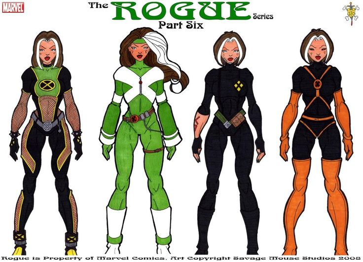 Rogue Series: Part Six by ~SavageMouse on deviantART