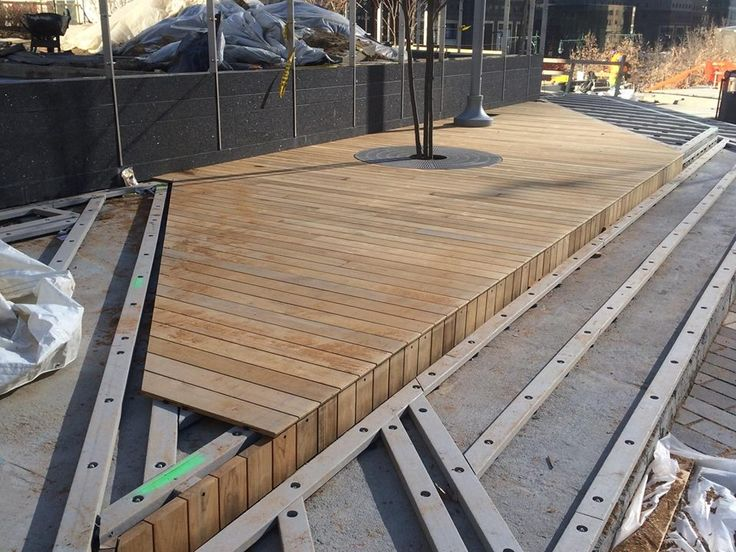 Recycled Plastic Lumber Sections Boardwalk