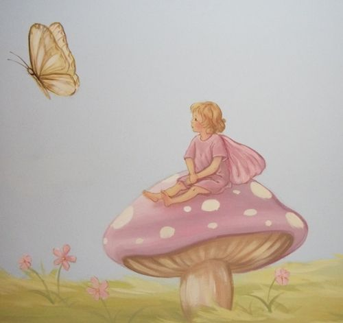 Mural Ideas For Fairy Room. These Are Murals Made From Prints That Iu0027d Part 74
