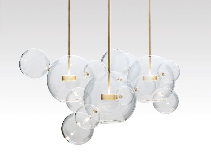 Bolle Pendant Cluster by Giopato & Coombes