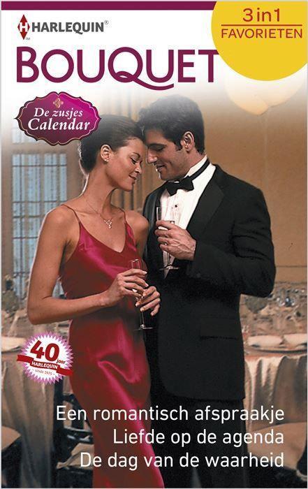 Een romantisch afspraakje ; Liefde op de agenda ; De dag van de waarheid  (1) EEN ROMANTISCH AFSPRAAKJE Soms voelt ze zich net Assepoester Tot diep in de nacht zingen in een sterrenhotel - en dan meteen door naar de boerderij om de koeien te melken. Dat is het leven van January Calendar. Tijd voor een prins heeft ze dus niet. Tot een knappe mysterieuze man haar op een avond een drankje aanbiedt... (2) LIEFDE OP DE AGENDA Hij is onuitstaanbaar maar ook onweerstaanbaar! Maar hoe aantrekkelijk…