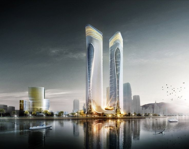 Aedas Unveils Dragon-Inspired Complex Design in Zhuhai, China | ArchDaily