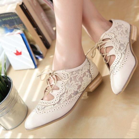 Shoes - Lace Oxfords