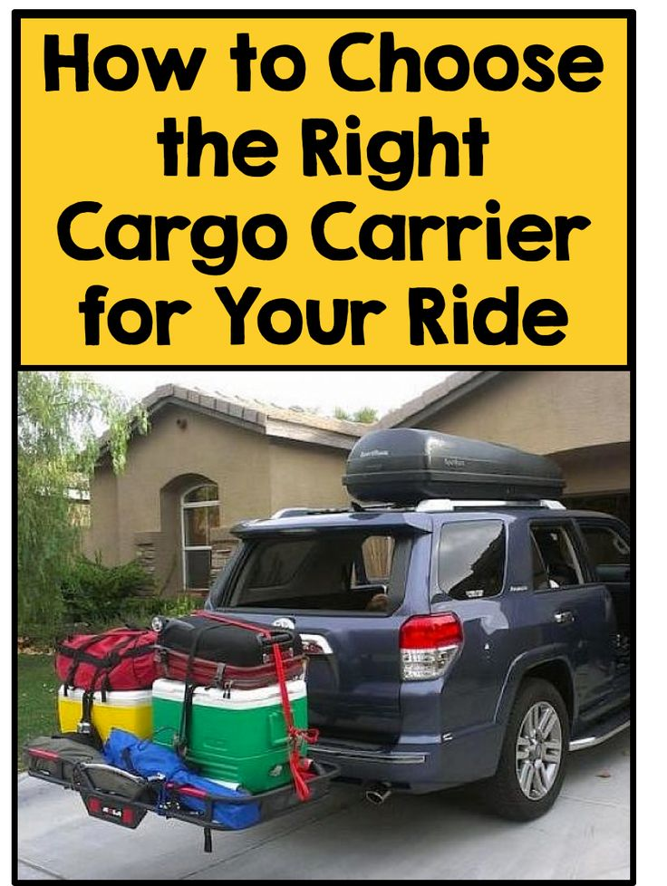 Whether you're off on a long road trip or you just need to haul your bikes for some trail riding, the interior cargo area of your car probably won't suffice. For those occasions when you need more storage, shop for a cargo carrier attachment. There are a variety of clever solutions! Roof racks are a great option, and many come custom for your specific car model. Alternatively, trailer hitch carriers feature a platform at the back of your car. Visit eBay to learn more about cargo carriers.