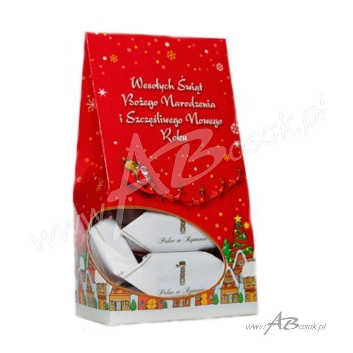 opakowanie świąteczne na słodycze