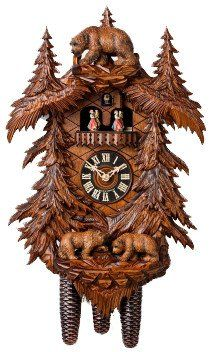 best day carved images days cuckoo clocks hones 21 5 8 day carved music 86709 5tko cuckoo clock