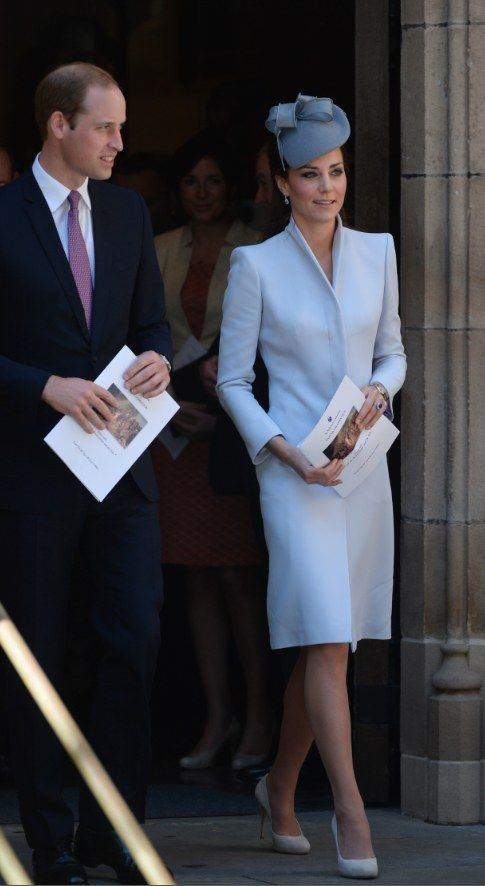 Alexander McQueen Coat And Jane Taylor Hat | The Definitive Ranking Of Kate Middleton's Royal Tour Outfits