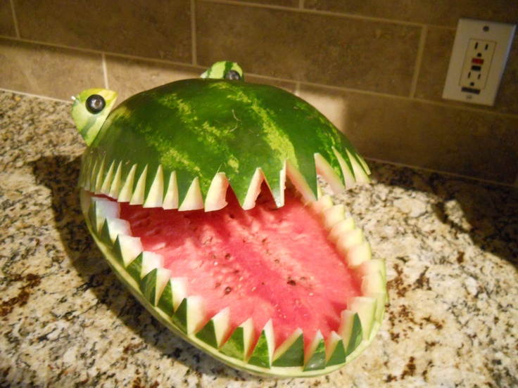 Watermelon for last day of school party