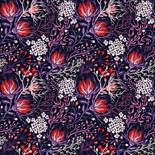 RUSSIA: PATTERN ILLUSTRATION: ANNA ANISKINA Follow Anna and MP on Pinterest here and here.
