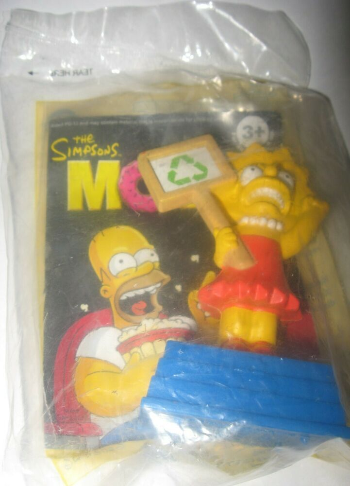 Burger King Simpsons The Movie Lisa 2007 Kids Meal Toy Factory Sealed In 2020 The Simpsons Movie Simpsons Toys Simpsons Treehouse Of Horror