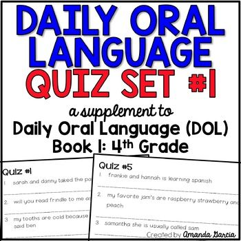 Daily oral language grade 2