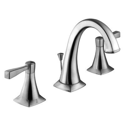 Design House Perth Lavatory Faucet Double Handle with Drain Assembly