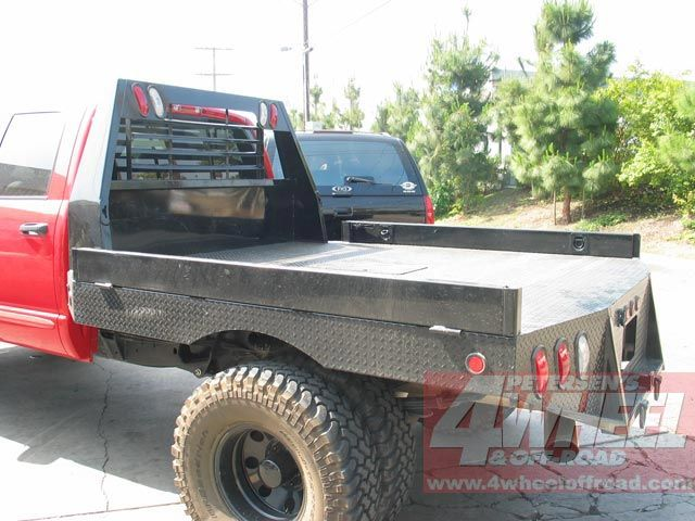 Dodge Beds Flat Custom Pickups