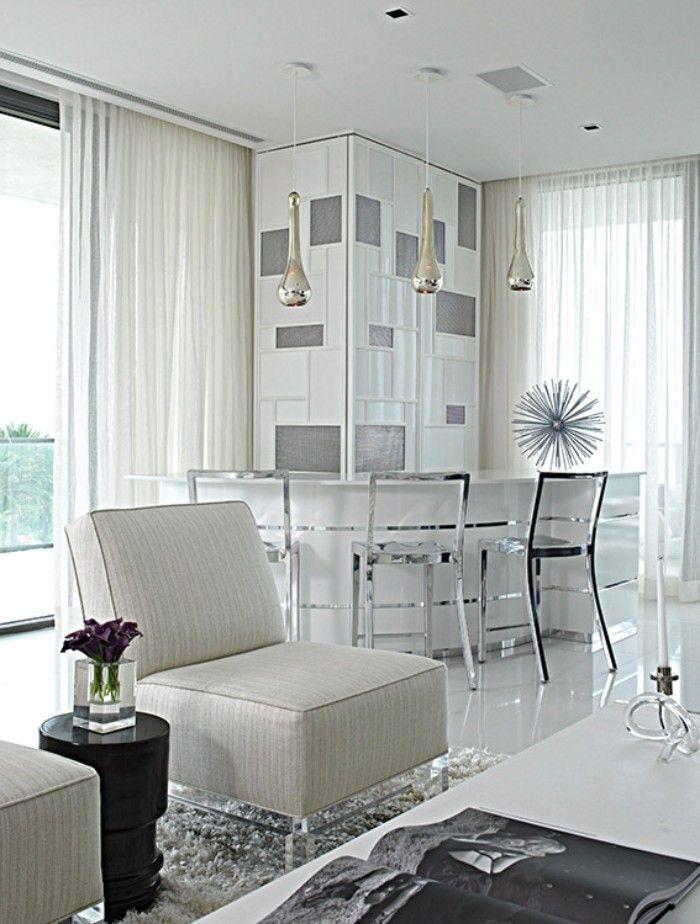 Ультрасовременный интерьер квартиры в Майами Бич от студии Deborah Wecselman Design (полное описание - http://destads.ru/?p=9303)