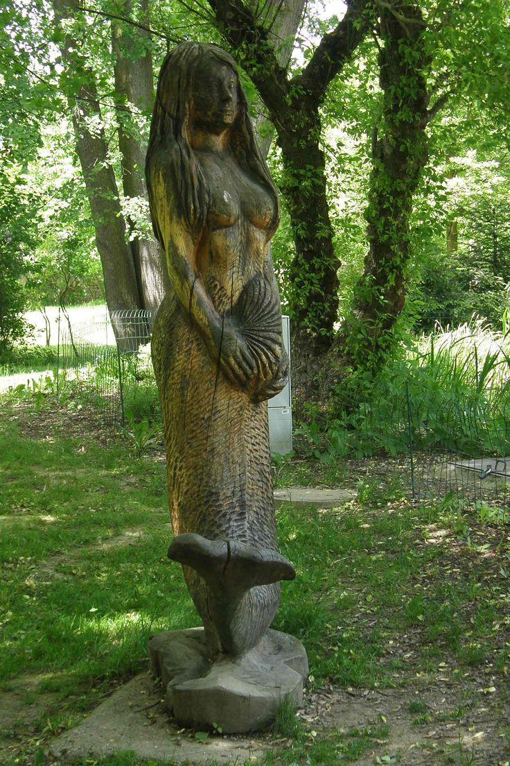 Mořská panna z Borovan
