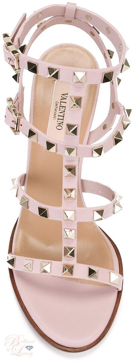 Brilliant Luxury by Emmy DE ♦ Valentino 'Rockstud' Sandals