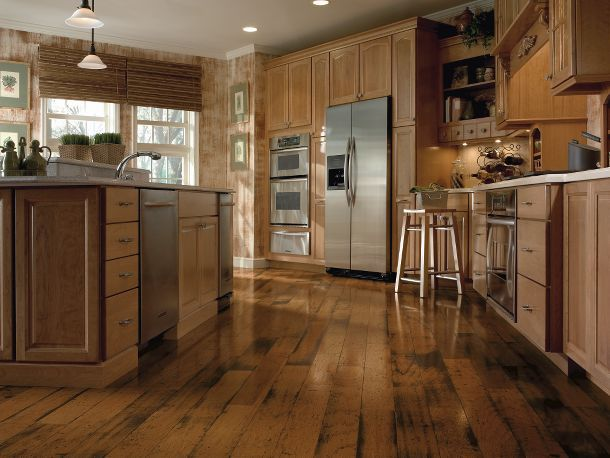 Distressed Hardwood Flooring From Armstrong