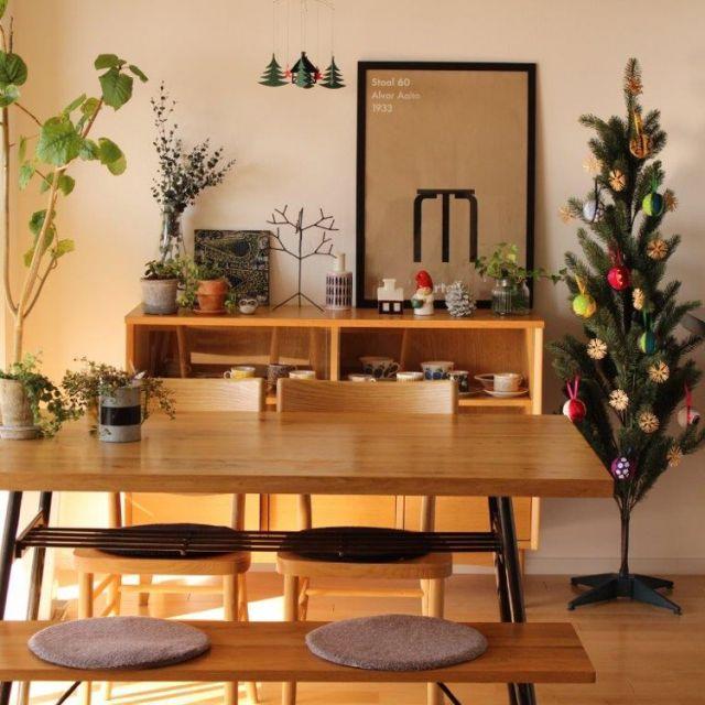 sisko_tomokaさんの、リビング,観葉植物,ナチュラル,植物,雑貨,マリメッコ,カフェ風,北欧,多肉植物,unico,クリスマス,リサラーソン,marimekko,北欧インテリア,クリスマスツリー,ウニコ,IGやってます,北欧ヴィンテージ食器,のお部屋写真