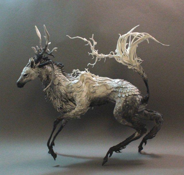 Amazing Animal Sculptures by Ellen Jewett - Explore like a Gipsy, Study like a Ninja