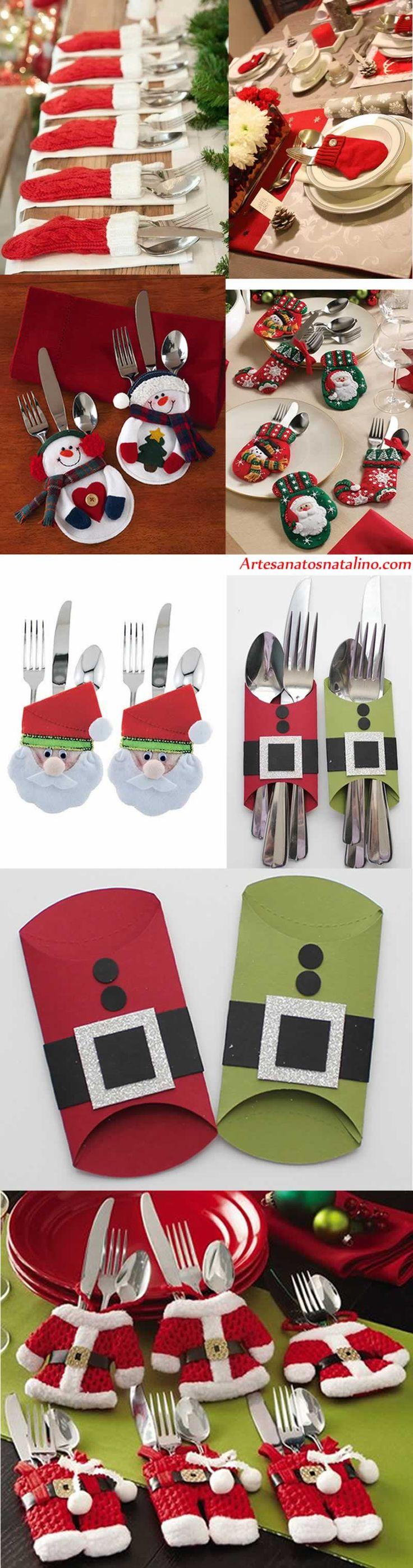 Sugestoes-de-porta-talheres-para-o-natal * Natal / DIY - Blog Pitacos e Achados -  Acesse: https://pitacoseachados.com  – https://www.facebook.com/pitacoseachados – https://www.tsu.co/blogpitacoseachados -  https://plus.google.com/+PitacosAchados-dicas-e-pitacos http://pitacoseachadosblog.tumblr.com #pitacoseachados