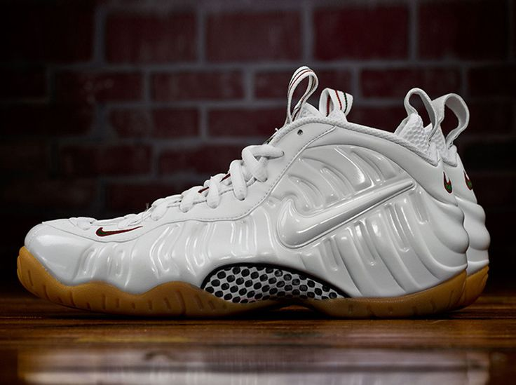 Nike Air Foamposite Pro White Gucci Gym Red Green Premium PRM