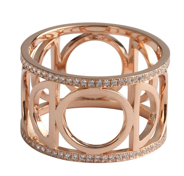 Moon Phase Ring - Rose Gold & Diamond