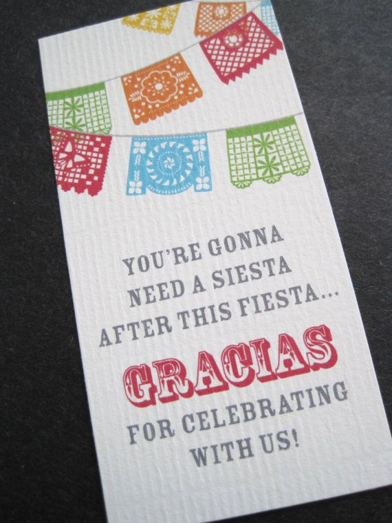 Fiesta Invitations with Papel Picado by theinvitingpear on Etsy, $15.00