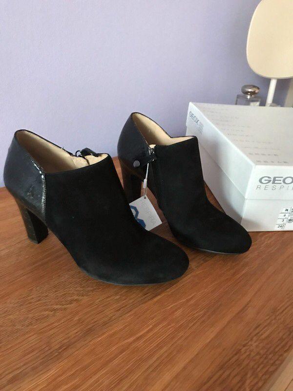 Moje Černé kožené kotníkové boty Geox Marielle od Geox! Velikost 36 za1 590 Kč. Mrkni na to: http://www.vinted.cz/damske-boty/kotnikove-boty/18746972-cerne-kozene-kotnikove-boty-geox-marielle.