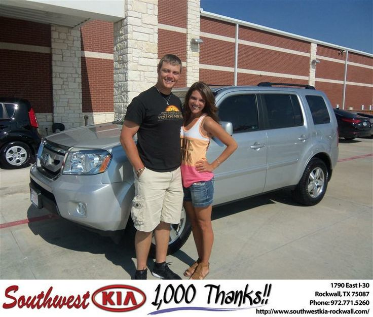 #HappyAnniversary to Austin Hayes on your 2010 #Honda #Pilot from Donald Weintraub at Southwest KIA Rockwall!