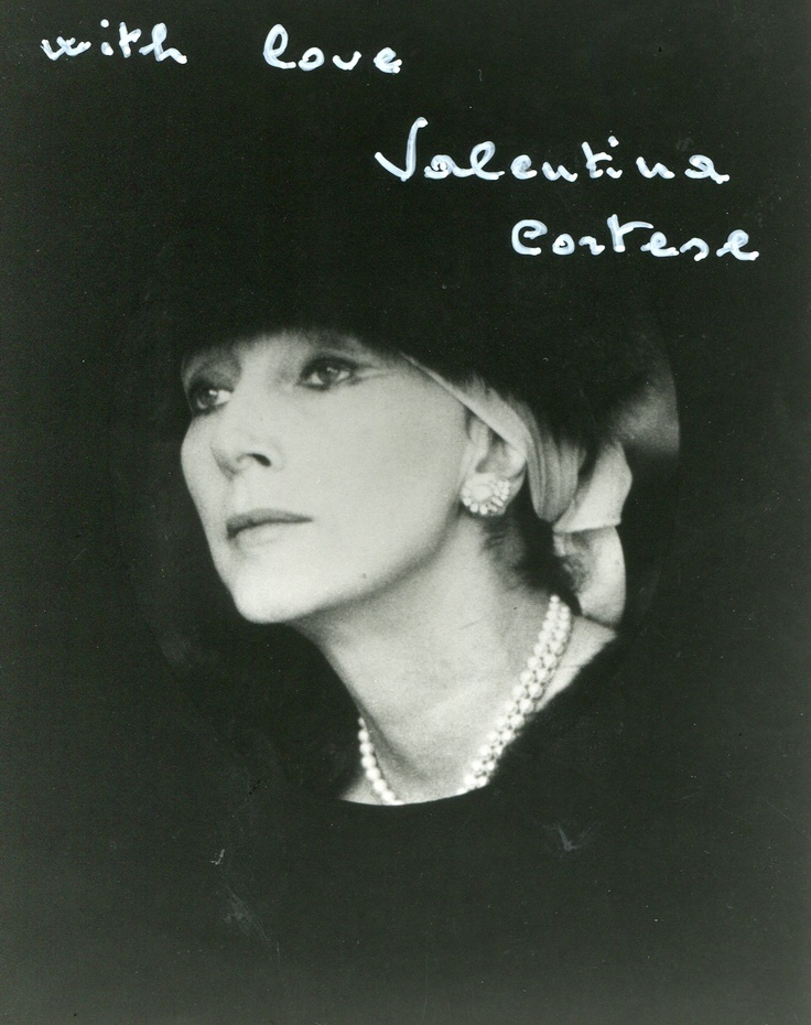 Valentina Cortese, Italian actress