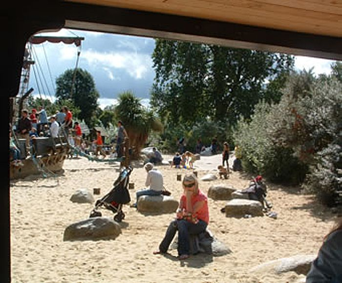 Timberplay: Princess Diana Memorial playground, Kensington Gardens 3 of 8