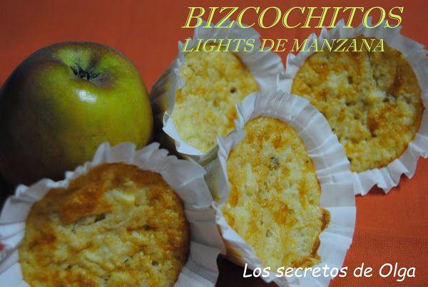 Bizcochitos ligth de manzana