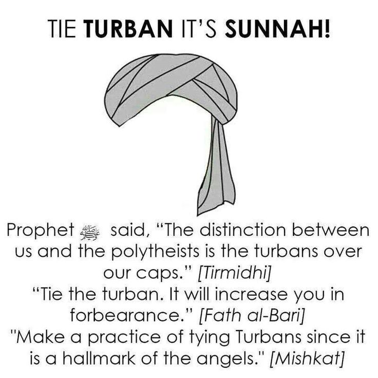 Turban..hav to check if this is True.