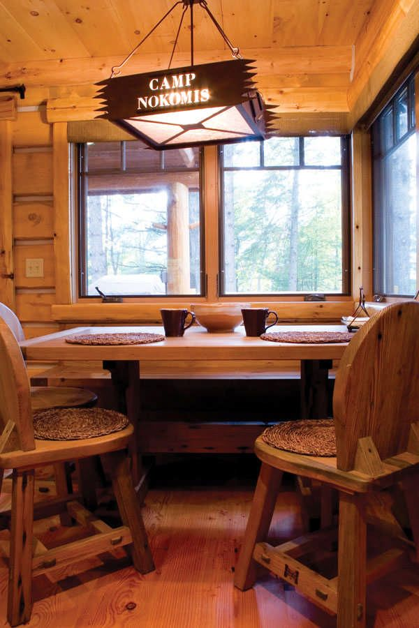Getting Creative Given the small size of the cabin, the Rigerts and David gave special attention to the interior design and fixtures to pack the most punch. Inspiration came from fly-fishing trips to Montana, where Donna and Michael fell in love with the western architectural style including open storage, wooden beams and large windows. David... Read more