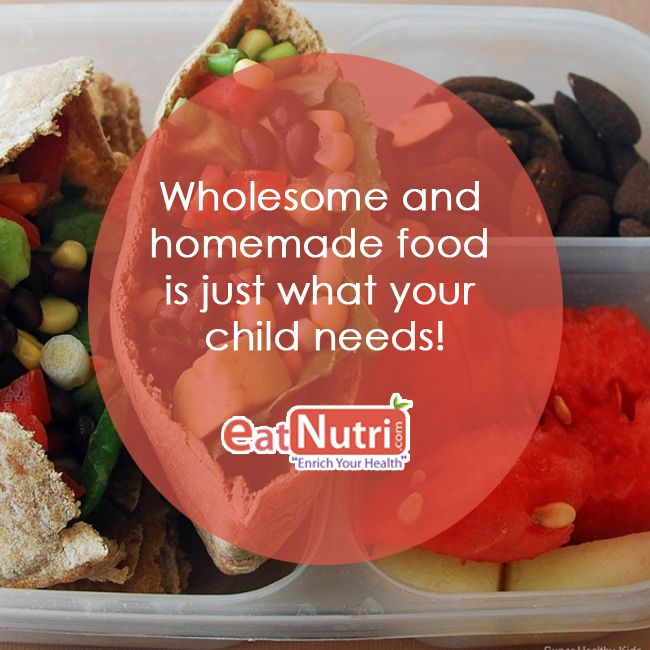 That's what we recommend and make our nutribites Fresh-healthy- Tasty for your kids!  #childhealth #eatnutri #health #teenshealth #kidshealth #homemade #freshfood #higenic