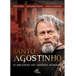 DVD Santo Agostinho o Declínio do Império Romano