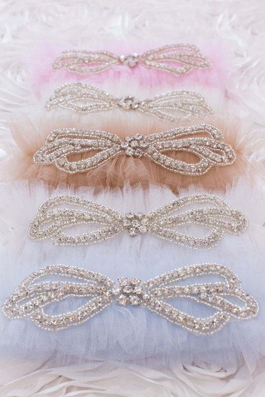 Rhinestone Wedding Garter Belt