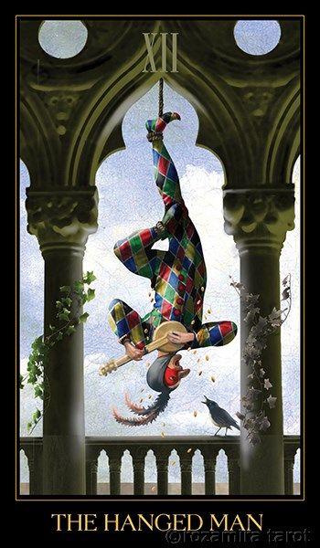 Hanged Man Venetian Tarot