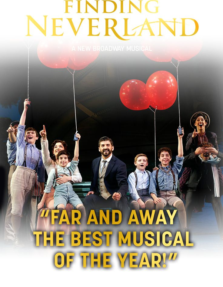 Home | Finding Neverland the Musical