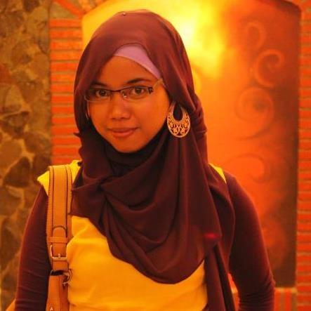Jilbab alami seperti gaya rambut