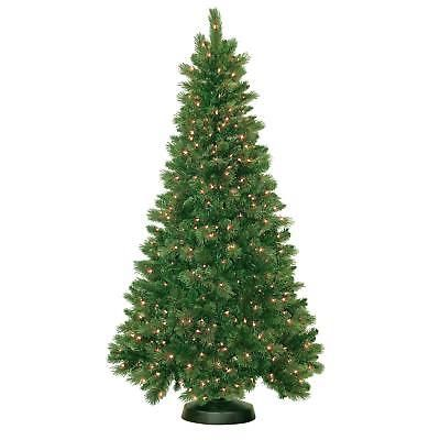 Artificial Christmas Tree Royal Mixed Prelit 500 Clear Lights Holiday Decor 7ft