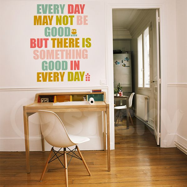 Wall Sticker GOOD DAY by Sticky!!!