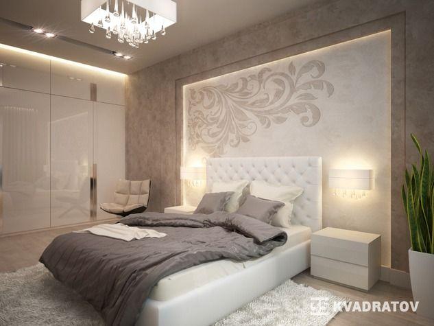 Проект: Спальня теплых тонах — Федорова Екатерина 35 KVADRATOV — MyHome.ru