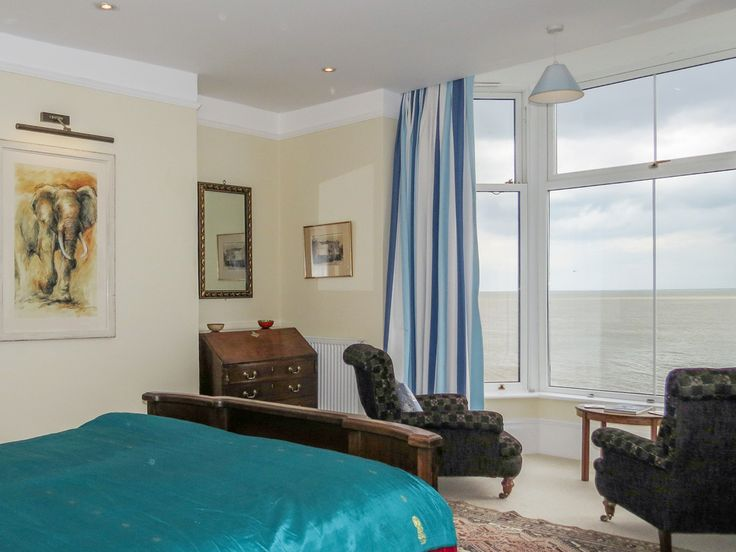 GUNFLEET, Aldeburgh --This impressive six bedroom and five bathroom holiday home boasts some of the best sea views in Aldeburgh, Suffolk.
