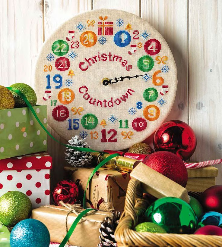 Christmas is Coming  - Available in CrossStitcher Magazine 299