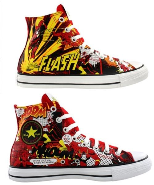 Flash-sneakers.... How do I Love thee? Let one count the ways.... THESE TOOO!!!!