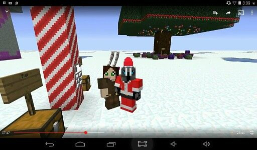 Pat and jen (PopularMMOs and Gaming With Jen) Christmas ...